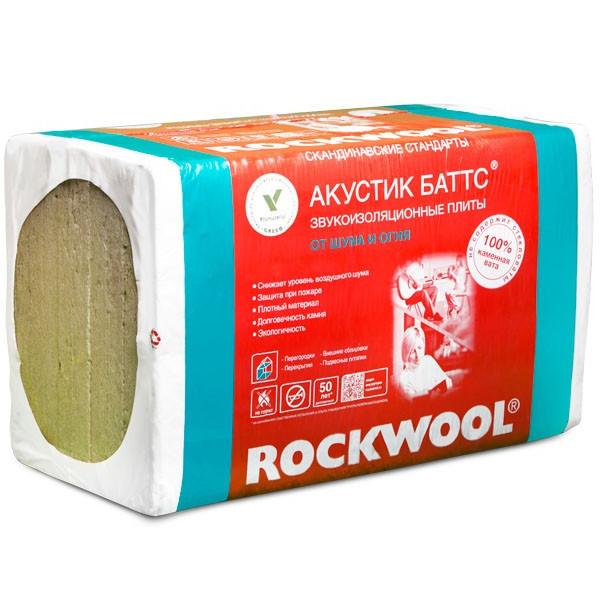 ROCKWOOL / РОКВУЛ Акустик Баттс 50 мм